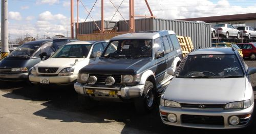 Japanese salvage cars