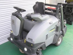 Used Kaercher Sweeper